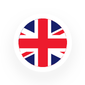 Flag uk  with border